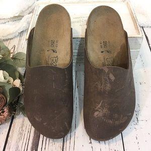 Birkenstock birkies Boston clog sandals